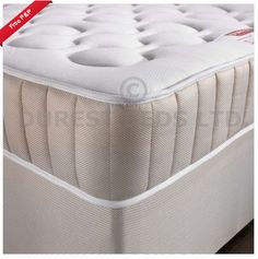 "COSY 25CM 10"" MEMORY FOAM SPRUNG MATTRESS 3FT SINGLE 4FT6 DOUBLE 5FT KING PHONE HELPLINE! 01924 450 444 from £59.99 FREE NEXT DAY DEL ! http://ebay.to/1CiOqU0"
