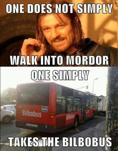 I WANT TO RIDE THE BILBOBUS!