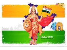 Jai Bharat Mata Hd Wallpaper Full Size For Desktop Download Hindu