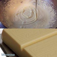 LA COCINA DE MORENISA: ganache de xoco blanco