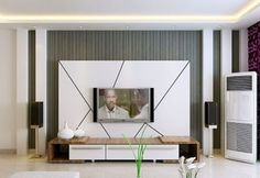 50 modern TV cabinets for living room TV wall units and cupboards 2020 unit design With Wallpaper unit decor Simple Modern Tv Cabinet, Tv Cabinet Design, Modern Tv Wall Units, Table Decor Living Room, Living Room Cabinets, Living Room Tv, Tv Cabinets, Tv Wall Decor, Wall Decor Design