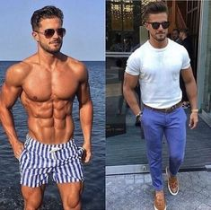 Amazing shirtless macho man with six packs abs and underwear and pants. Six Pack Abs Men, Muscular Men, Best Mens Fashion, Shirtless Men, Attractive Men, Mens Clothing Styles, Stylish Men, Male Models, Fitness Inspiration