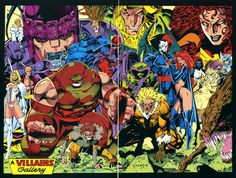 The ABCs of Comics! J is for Jim Lee! When you're talking about comic book artists from the Jim Lee is among the cream of the crop. He got his start at Marvel. Image Comics, Action Comics, Marvel Comics Art, Marvel X, Marvel Heroes, Marvel Women, Batwoman, Batgirl, Comic Book Artists