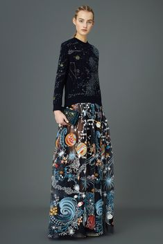#VALENTINO pre-fall 2015 #collection by Maria Grazia Chiuri and Pierpaolo Piccioli & British textile designer Celia Birtwell