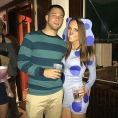 boyfriend and I. blues clues couples costume #bluesclues #couplescostume #blueandsteve #halloween2013