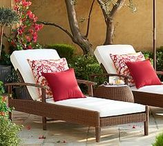 Outdoor Chaises | Pottery Barn