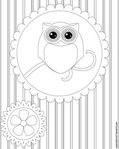 This coloring page will be a hit with kids who come with their moms to my Origami Owl jewelry bars! www.LoveStoryLock...   Mentor # 6216