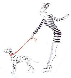 Dalmation by Jacqueline Bissett