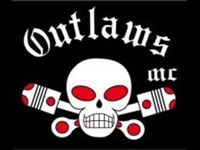 "Outlaws Motorcycle Club logo. Membership in the Outlaws is limited to men who own American-made motorcycles of a particular size,[4] although in Europe motorcycles from any country are allowed so long as they are in the chopper style. Their main rivals are the Hells Angels, giving rise to a phrase used by Outlaws members, ""ADIOS"" (the Spanish word for ""goodbye"", but in this case doubling as an acronym for ""Angels DieIn Outlaw States"")."