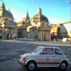 Piazza del Popolo, Rome Via Instagram- diegofunaro.