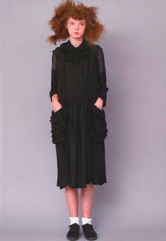 CdG girl Rei Kawakubo, Comme Des Garcons, One And Only, Business Women, High Neck Dress, Collection, Dresses, Image, Fashion