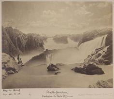 Cachoeira de Paulo Afonso, Bahia, em 1875