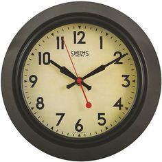 Smiths Sectric Wall Clock, Smiths Dial - 25.5cm