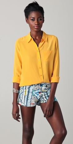 marigold blouse