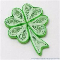 martisor quilling trifoi4 inimoare