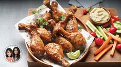 Try this slow cooker honey-mustard drumsticks from Alexandra Diaz and Geneviève O& Paleo Dinner, Dinner Recipes, Slow Cooker Recipes, Cooking Recipes, Baby Food Recipes, Healthy Recipes, Balsamic Vinegar Chicken, Honey Mustard, Convenience Food