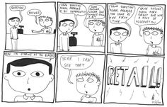 This happens in retail all the time!