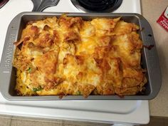 "cool ranch dorito chicken casserole! ""easy recipe""  @allthecooks #recipe #casserole #chicken #doritos #dinner #easy"