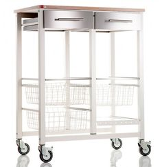Buy Don Hierro Onda Double Butcher's Trolley, Ivory White / Beech from our Butcher's Trolleys range at John Lewis & Partners. Cheap Countertops, Butcher Block Countertops, Laminate Countertops, Concrete Countertops, Kitchen Countertops, Butcher Blocks, Faux Granite, Kitchen Chairs, Kitchen Furniture