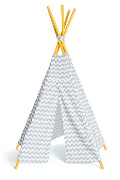 Why not bring back childhood memories and surprise your little one with this amazing tepee. The Tipiz by moKee #thetipiz #tipi #tepee #yellow #babynursery #babydesign