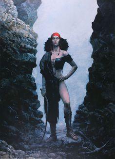 Affiche, Grzegorz Rosinski, Thorgal : Kriss de Valnor
