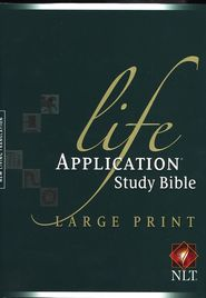 NLT Life Application Study Bible,