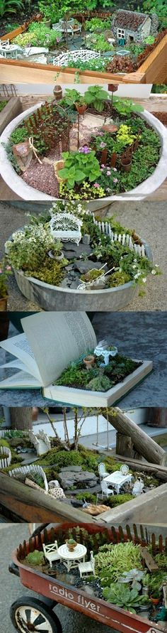 10 Great Decorate With Miniature For Cute Gardens