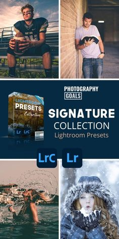 Dozens of Lightroom Presets to help you create high quality images that your friends and family will love without spending the time to edit in Lightroom. Includes 6 separate collections including Cinematic Portrait, Orange & Teal, Fall Color Enhancement, Sunset Glow, Cool Winter AND our Workflow Presets to help speed up even basic editing in Lightroom. Photography Editing, Photo Editing, Lightroom Presets For Portraits, Pretty Presets, Signature Collection, Cover Photos, Senior Pictures, High Quality Images, Separate