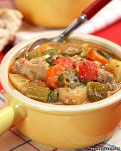 Firehouse Chicken Stew Recipe & Video | Martha Stewart