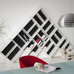 50 ideas de espacios creativos para guardar libros | Puerto Pixel | Recursos de Diseño