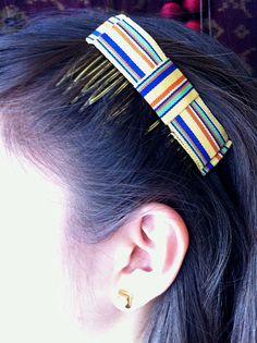 Vintage Trimming Hair Combs. $6.00, via Etsy.