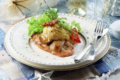 3 ízletes étel csicsókával Meat, Chicken, Food, Essen, Meals, Yemek, Eten, Cubs