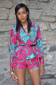 ♥African Fashion ■ The Justina Top