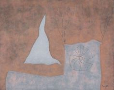"William Baziotes ""Pinwheel"" (1958) oil on canvas."