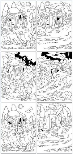 My Little House: Bible coloring pages