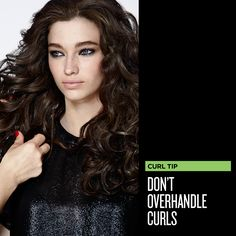 Curvaceous Curl Tip: Don't overhandle your curls