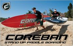 Coreban 14' Dart. A great downwind board.