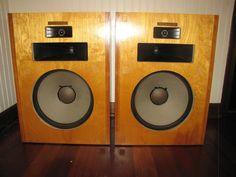 Pair of 1977 Vintage Klipsch Heresy Speakers  