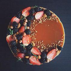 pie, berries