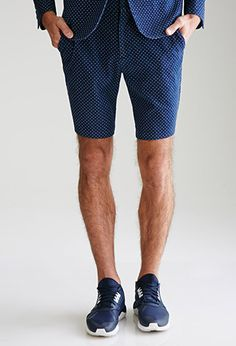 Pin Dot Trouser Shorts | 21 MEN - 2000099201