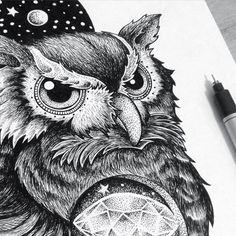 'DIAMOND OWL', 2015  Details ✏️