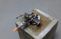 repintado de miniaturas X Wing Miniatures, Star Wars Vehicles, Star Wars Models, Armies, Starwars, Minis, Board Games, Wedge, Miniatures
