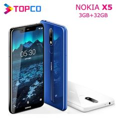Nokia X5 Nokia 5.1 Plus Original Unlocked Android Mobile Phone Octa Core 4G LTE 5.86'' 3GB RAM 32GB ROM Dual SIM 13MP&5MP&8MP  Price: 4145.79 & FREE Shipping #computers #shopping #electronics #home #garden #LED #mobiles #rc #security #toys #bargain #coolstuff |#headphones #bluetooth #gifts #xmas #happybirthday #fun Electronics Gadgets, Tech Gadgets, Dual Sim, Mobile Phones, Android, Free Shipping, The Originals, Electronic Devices, High Tech Gadgets