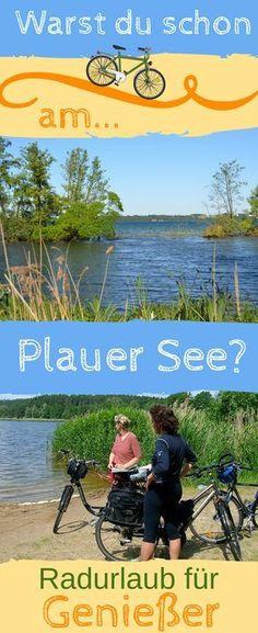 """Vom Plauer See aus, im Westen der Mecklenburgischen #Seenplatte gelegen, zur Radrundfahrt """"Mecklenburger Seentour"""" starten. #Reisetipp #Deutschland"""