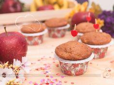 Muffin é aquele bolinho individual super fofinho que é perfeito para levar de lanchinho para o trabalho, escola ou faculdade e quando acompanhado com um c