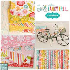 Fancy Free fabric collection designed by Lori Whitlock for Riley Blake Designs #fancyfree #loriwhitlock #rileyblakedesigns