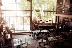 *빈티지 인더스트리얼 레스토랑 [ Zohra Boukhari ] The 'Bistrot' in Seminyak, Kuta District, Bali
