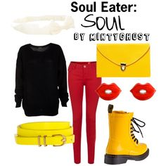"""Soul Eater: Soul"" by mintyghost on Polyvore"