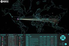 Is This What The First World Cyber War Looks Like: Global Real Time Cyber Attack Map   Zero Hedge
