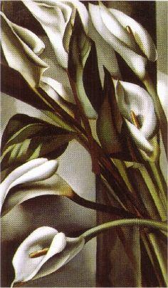Calla lilies (1931), 1931 by Tamara De Lempicka (1898-1980, Poland)